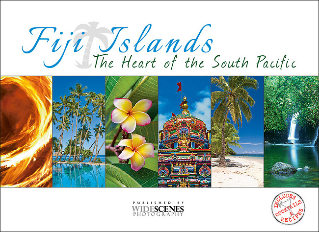 Fiji Islands - The Heart of the South Pacific- Souvenir pictorial 80 page book, hard cover, full colour images, recipes & cocktails that capture the essence of the Fiji Islands.  To view sample pages of this book please click on link: http://bit.ly/1kt2iEL