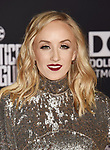 HOLLYWOOD, CA - NOVEMBER 13: Olympic gymnast Nastia Liukin arrives at the Premiere Of Warner Bros. Pictures' 'Justice League' at the Dolby Theatre on November 13, 2017 in Hollywood, California.