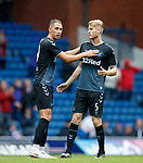 21.07.2019: Rangers v Blackburn Rovers: Nikola Katic and Filip Helander