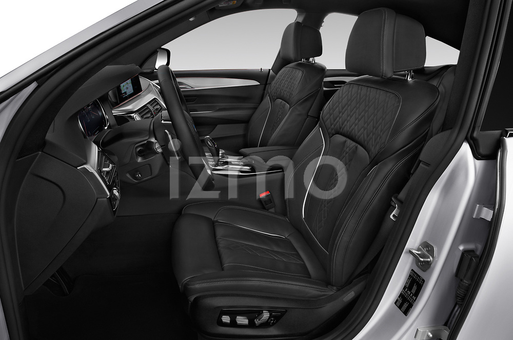 Front seat view of a 2018 BMW 6 series gran turismo Sport 5 Door Hatchback front seat car photos