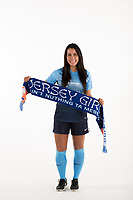 Belmar, NJ - Wednesday March 29, 2017: Erica Murphy poses for photos at the Sky Blue FC team photo day.