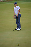 Justin Thomas (USA) barely misses his putt on 2 during day 5 of the World Golf Championships, Dell Match Play, Austin Country Club, Austin, Texas. 3/25/2018.<br /> Picture: Golffile | Ken Murray<br /> <br /> <br /> All photo usage must carry mandatory copyright credit (&copy; Golffile | Ken Murray)