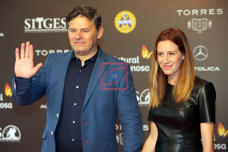 49 Festival Internacional de Cinema Fantastic de Catalunya-Sitges 2016.<br /> Red Carpet Inside.<br /> Miki Nadal &amp; Carolina Moreno.