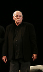 Playwright Bernard Pomerance during the Broadway Opening Night Performance Curtain Call for 'The Elephant Man' at the Booth  Theatre on December 7, 2014 in New York City.
