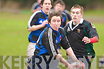 Liam Griffin  ISK and Sean Williams  MounthawkISK v Mounthawk Rugby