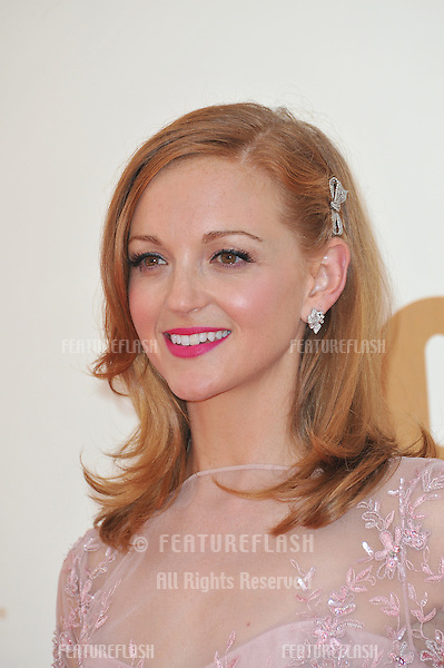 Jayma Mays arriving at the 2011 Primetime Emmy Awards at the Nokia Theatre L.A. Live in downtown Los Angeles..September 18, 2011  Los Angeles, CA.Picture: Paul Smith / Featureflash