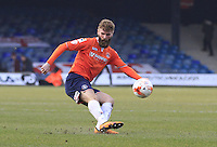 Paddy McCourt of Luton Town switches play during the Sky Bet League 2 match between Luton Town and Crawley Town at Kenilworth Road, Luton, England on 12 March 2016. Photo by Liam Smith.