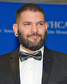 Guillermo Díaz arrives for the 2016 White House Correspondents Association Annual Dinner at the Washington Hilton Hotel on Saturday, April 30, 2016.<br /> Credit: Ron Sachs / CNP<br /> (RESTRICTION: NO New York or New Jersey Newspapers or newspapers within a 75 mile radius of New York City)