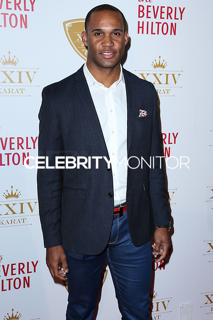 BEVERLY HILLS, CA, USA - OCTOBER 16: Bret Lockett arrives at the XXIV Karat Launch Party held at the Beverly Hilton Hotel on October 16, 2014 in Beverly Hills, California, United States. (Photo by Xavier Collin/Celebrity Monitor)