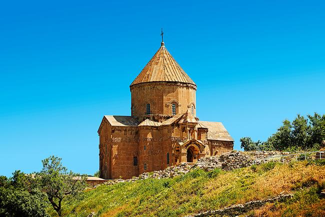 10th century Armenian Orthodox Cathedral of the Holy Cross on Akdamar Island, Lake Van Turkey 70