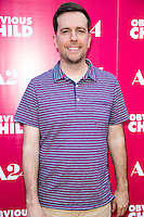 Ed Helms attends the Los Angeles Special Screening of A24's OBVIOUS CHILD at Arclight Hollywood