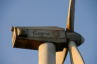 KENYA, Nairobi, Ngong Hills, 25,5 MW Wind Power Station with Gamesa wind turbines, owned and operated by KENGEN Kenya Electricity Generating Company / KENIA, Ngong Hills Windpark, Betreiber KenGen Kenya Electricity Generating Company mit Gamesa Windkraftanlagen
