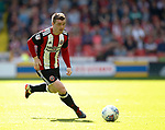 John Fleck of Sheffield Utd  during the English Championship League match at Bramall Lane Stadium, Sheffield. Picture date: August 5th 2017. Pic credit should read: Simon Bellis/Sportimage
