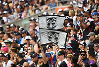 Fans and supporters.<br /> NRL Premiership. Vodafone Warriors v Gold Coast Titans. Mt Smart Stadium, Auckland, New Zealand. March 17 2018. &copy; Copyright photo: Andrew Cornaga / www.Photosport.nz