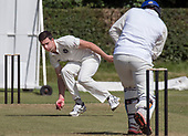 Cricket Scotland - Scotland V Namibia, in this week's 4 day Intercontinental Cup (this is Day 2 - Day 1 was lost to rain) - Ruaidrhi Smith - picture by Donald MacLeod - 07.06.2017 - 07702 319 738 - clanmacleod@btinternet.com - www.donald-macleod.com