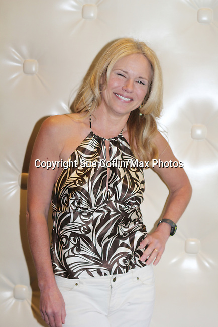 Guiding Light's Beth Chamberlin - 1st Annual Bauer BBQ - 13th Annual Daytime Stars and Strikes for Autism on April 24, 2016 at The Residence Inn Secaucus Meadowlands, Secaucus, NJ. April is Autism Awareness Month - Make a Difference This Spring. (Photo by Sue Coflin/Max Photos)