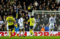 Blackburn Rovers' Charlie Mulgrew scores his side's second goal from a freekick<br /> <br /> Photographer Alex Dodd/CameraSport<br /> <br /> The EFL Sky Bet Championship - Leeds United v Blackburn Rovers - Wednesday 26th December 2018 - Elland Road - Leeds<br /> <br /> World Copyright © 2018 CameraSport. All rights reserved. 43 Linden Ave. Countesthorpe. Leicester. England. LE8 5PG - Tel: +44 (0) 116 277 4147 - admin@camerasport.com - www.camerasport.com