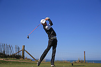 Paddy Towson-Sheehy during Round Two of the West of England Championship 2016, at Royal North Devon Golf Club, Westward Ho!, Devon  23/04/2016. Picture: Golffile | David Lloyd<br /> <br /> All photos usage must carry mandatory copyright credit (&copy; Golffile | David Lloyd)