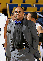 Florida International University Director of Basketball Operations Hashim Ali Alauddeen during the game against Troy University, which won the game 75-70 in overtime on February 23, 2012 at Miami, Florida. .