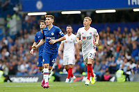 Billy Gilmour of Chelsea during the Premier League match between Chelsea and Sheff United at Stamford Bridge, London, England on 31 August 2019. Photo by Carlton Myrie / PRiME Media Images.