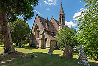Cleverly converted church, with pews at the dining table, on the market for £750,000.