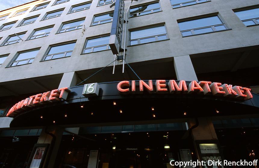 Norwegen, Oslo, Cinemateket, alternatives Kino in Dronningensgate