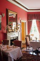 "Europe/Grande Bretagne/Ecosse/Highland/Nairn : Hôtel de charme ""Boath House"" - La salle à manger"