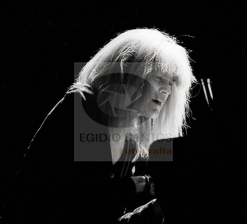 Carla Bley, jazz musician, playing at Porto.