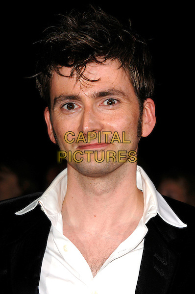 DAVID TENNANT.National Television Awards 2007.Royal Albert Hall.31st October 2007 London, England.portrait headshot.CAP/PL.©Phil Loftus/Capital Pictures