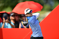 SINGAPORE - FEBRUARY 01: Jodi Ewart Shadoff of England on the 1st tee during the second round of the HSBC Women's World Championship 2019 at Sentosa Golf Club - Tanjong Course, Singapore on March 01, 2019.<br /> .<br /> .<br /> .<br /> (Photo by: Naratip Golf Srisupab/SEALs Sports Images)<br /> .<br /> Any image use must include a mandatory credit line adjacent to the content which should read: Naratip Golf Srisupab/SEALs Sports Images
