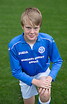 St Johnstone FC Academy U13's<br /> Thomas Gray<br /> Picture by Graeme Hart.<br /> Copyright Perthshire Picture Agency<br /> Tel: 01738 623350  Mobile: 07990 594431