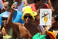 RIO DE JANEIRO25 DE  FEVEREIRO DE 2012- BLOCO QUIZOMBA- Blco realiza  desfile  pelas ruas  do centro do RJ, com início na  Lapa, centro do RJ.<br /> Foto: Guto Maia / Brazil Photo Press