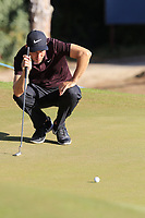 Ross Fisher (ENG) on the 5th green during Saturday's Round 3 of the 2018 Turkish Airlines Open hosted by Regnum Carya Golf &amp; Spa Resort, Antalya, Turkey. 3rd November 2018.<br /> Picture: Eoin Clarke | Golffile<br /> <br /> <br /> All photos usage must carry mandatory copyright credit (&copy; Golffile | Eoin Clarke)
