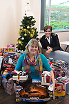 Wales &amp; West Utilities Christmas Present donations.<br /> 09.12.16<br /> &copy; Steve Pope - Fotowales
