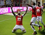 Santa Fe venció como local 1-0 a Jaguares. Partido aplazado Fecha 15 Liga Águila.