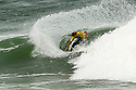 Luke Stedman from Australia made it to the quater final at the Quiksilver Pro in the south of France.