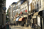 Main Street in Breda, Holland, the Netherlands.