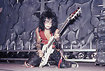 Nikki Sixx of Motley Crue Jan 1984 at New Haven Coliseum