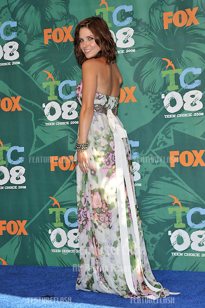 Sophia Bush at the 2008 Teen Choice Awards at Universal Studios, Hollywood..August 3, 2008  Los Angeles, CA.Picture: Paul Smith / Featureflash