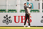 Dylan Frittelli of South Africa tees off the first hole during the 58th UBS Hong Kong Open as part of the European Tour on 08 December 2016, at the Hong Kong Golf Club, Fanling, Hong Kong, China. Photo by Marcio Rodrigo Machado / Power Sport Images