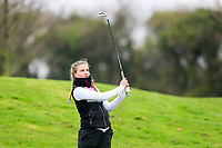 Ellie Gower (England) during the Irish Girls' Open Stroke Play Championship, Roganstown Golf Club, Swords, Ireland. 13/04/2018.<br /> Picture: Golffile | Fran Caffrey<br /> <br /> <br /> All photo usage must carry mandatory copyright credit (&copy; Golffile | Fran Caffrey)