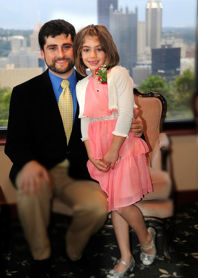 Father/Daughter Dance Adam's Quest October 4,  2014 At Trimont on Mt. Washington neighborhood over looking The Point State Park and Downtown Pittsburgh.