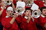 MADISON, WI - NOVEMBER 3:The Wisconsin Badgers band plays during the game against the University of Wisconsin-Stout Blue Devils at the Kohl Center on September 3, 2006 in Madison, Wisconsin. The Badgers beat the Blue Devils 82-33. Photo by David Stluka
