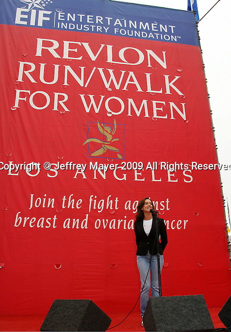 LOS ANGELES, CA. - May 09: Lilly Tartikoff attends the 16th Annual EIF Revlon Run/Walk For Women at the Los Angeles Memorial Coliseum on May 9, 2009 in Los Angeles, California.