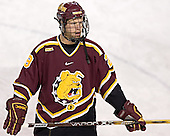 Chad Haacke - The Boston College Eagles and Ferris State Bulldogs tied at 3 in the opening game of the Denver Cup on Friday, December 30, 2005, at Magness Arena in Denver, Colorado.  Boston College won the shootout to determine which team would advance to the Final.