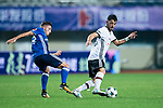 Besiktas Istambul Midfielder Tolgay Arslan (R) fights for the ball with FC Schalke Forward Donis Avdijaj (L) during the Friendly Football Matches Summer 2017 between FC Schalke 04 Vs Besiktas Istanbul at Zhuhai Sport Center Stadium on July 19, 2017 in Zhuhai, China. Photo by Marcio Rodrigo Machado / Power Sport Images