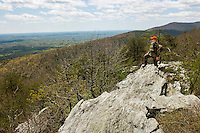 Photography of the Civil Air Photography of the Civil Air Patrol(CAP) MER NC 111 Search and Rescue Squadron,training April 9, 2016 at Hanging Rock State Park.<br />