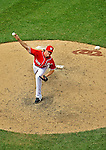 20 May 2012: Washington Nationals pitcher Tyler Clippard on the mound against the Baltimore Orioles at Nationals Park in Washington, DC. The Nationals defeated the Orioles 9-3 to salvage the third game of their 3-game series. Mandatory Credit: Ed Wolfstein Photo