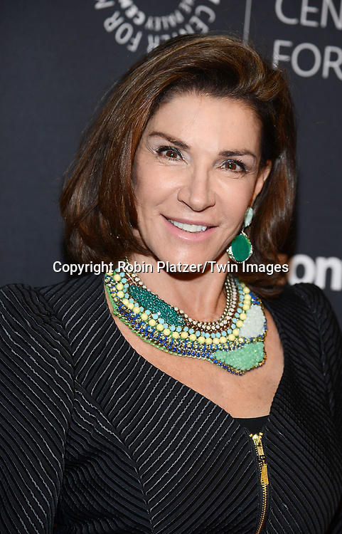Hilary Farr attends the Paley Center for Media presents the Paley Center Honors Women in Television on May 17, 2017 at Cipriani Wall Street in New York, New York, USA.<br /> <br /> photo by Robin Platzer/Twin Images<br />  <br /> phone number 212-935-0770