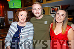 Mary Murphy, Gary McCormack and Jeanie Power enjoying the night out in the Brogue Inn on Saturday